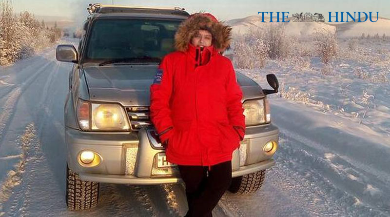 The Hindu: Bengaluru woman braves Russia's 'highway of bones'