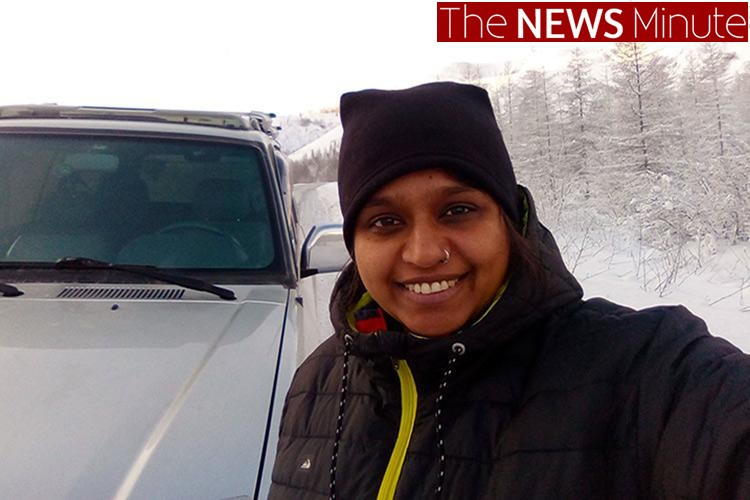 The NEWS Minute: Meet the Bengaluru woman who traversed through the world's coldest highway